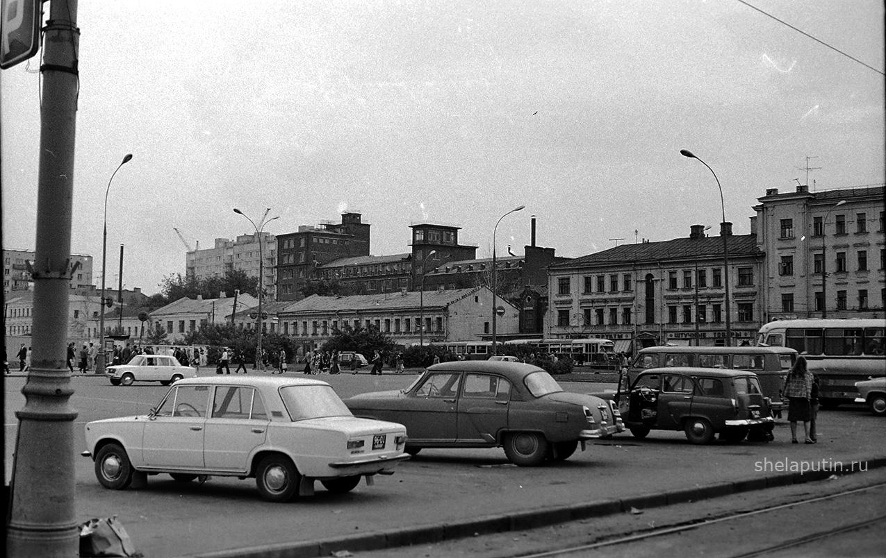 Москва улица зацепа на старинных фото
