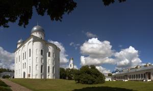 Юрьев монастырь, Новгород Великий, август 2012