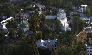 Солотчинский монастырь под Рязанью, август 2012