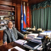 С.Миронов, председатель Совета федерации, 2003